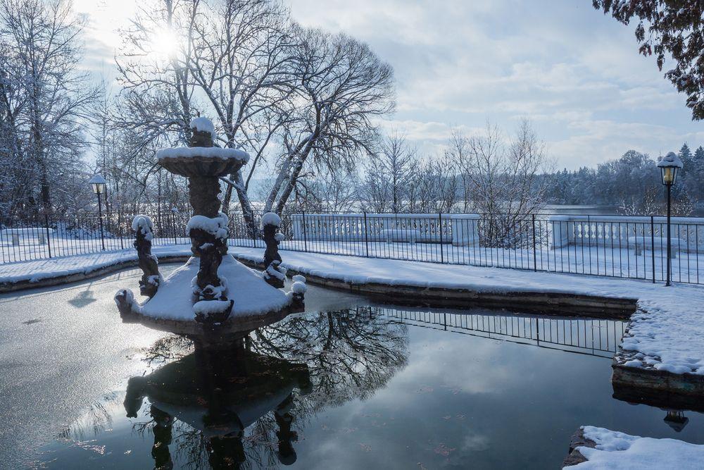 Abtsdorfer See von der Schlossklinik