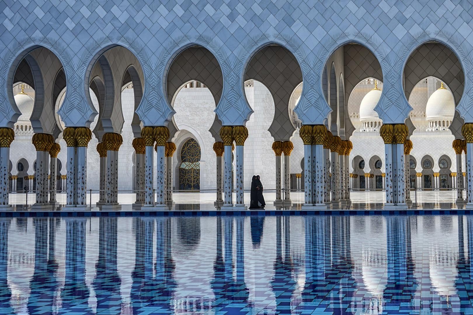Abu Dabi Scheich Zayed Moschee