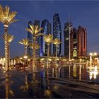 Abu Dhabi bei Nacht