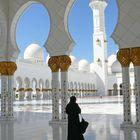 Abu Dhabi Besuch der grossen Moschee 1
