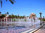 Abu Dhabi - Fountains at Palace of the Emirates