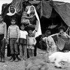 Abu Sidra and his family