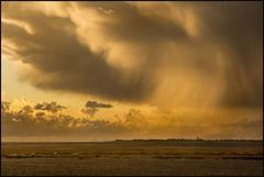 Abziehendes Sommer-Gewitter über Sylt...