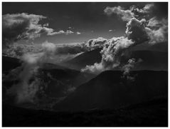 Abzug der Wolken