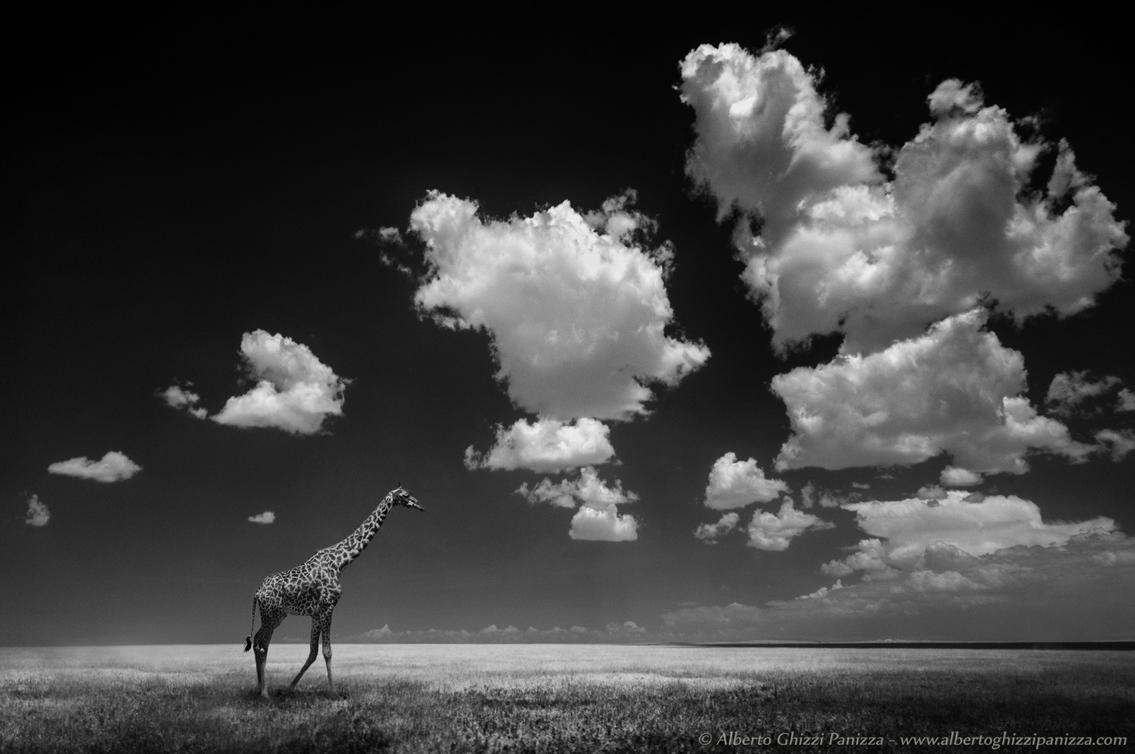 Accompagnata dalle nuvole