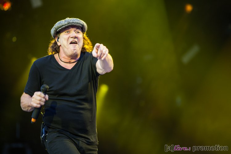 AC/DC in Hannover - Brian Johnson