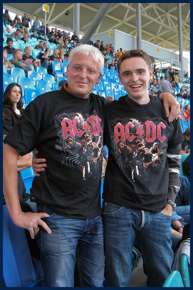 AC/DC in Leipzig-Vater& Sohn