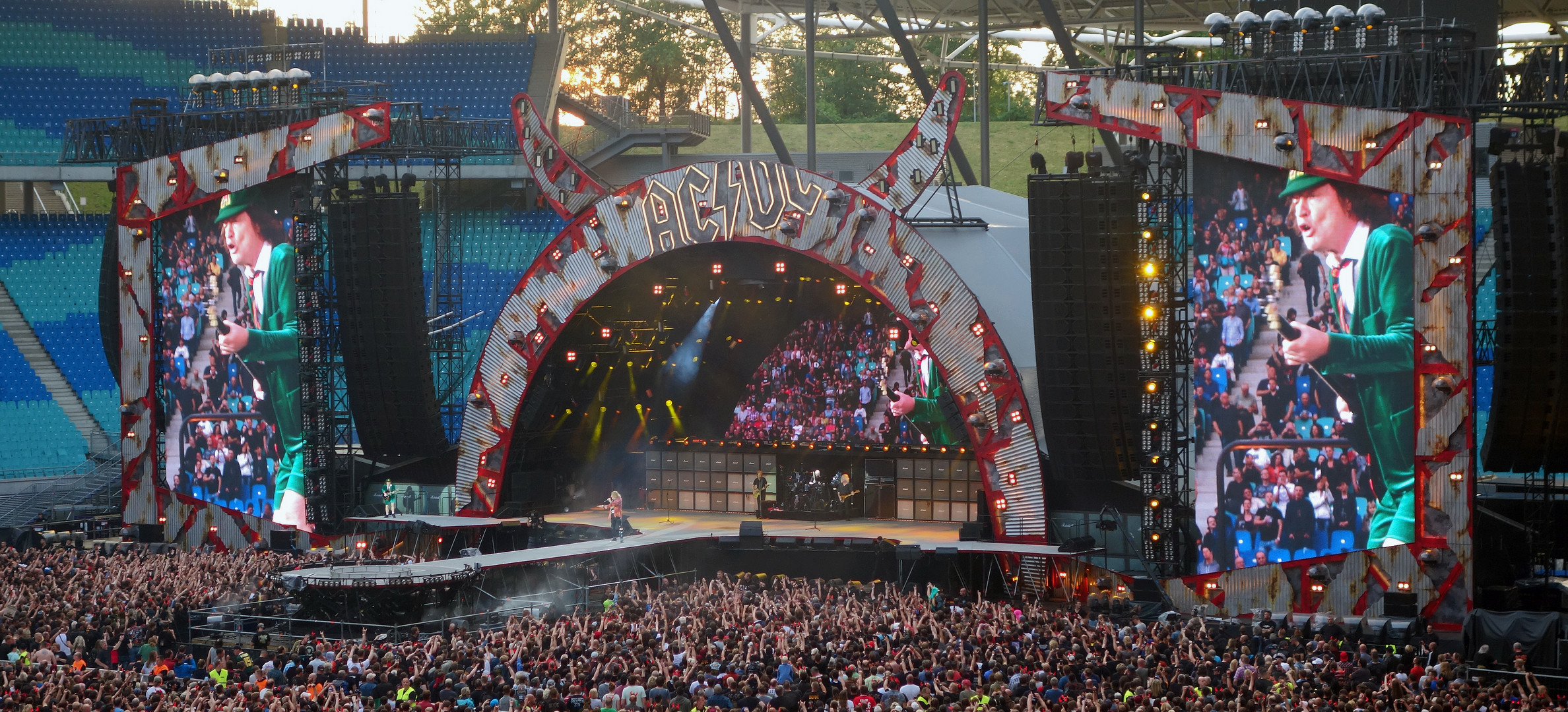 ACDC Red Bull Arena Leipzig