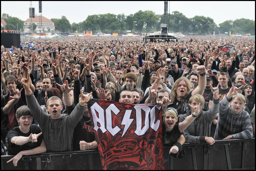 Acdc Rocken Dresden Und 72000 Fans Waren Dabei Foto Bild