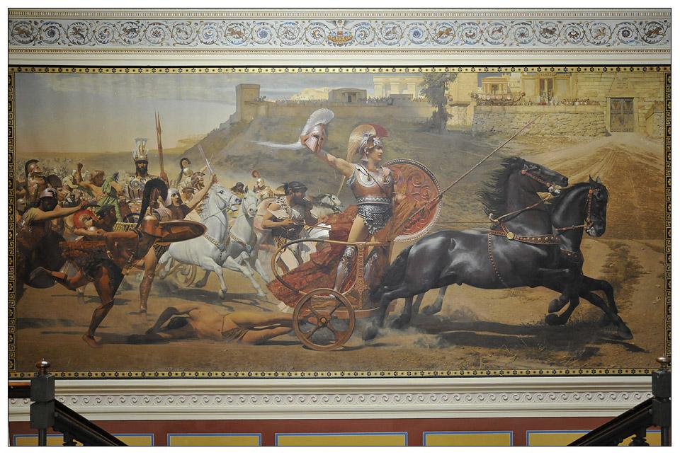 Achilleion - Wandgemälde