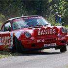 Achim Welteke im Bastos Racing Team Porsche 911 SC-RS bei der Eifel Rallye 2008
