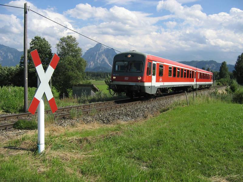 Achtung Bahnübergang!