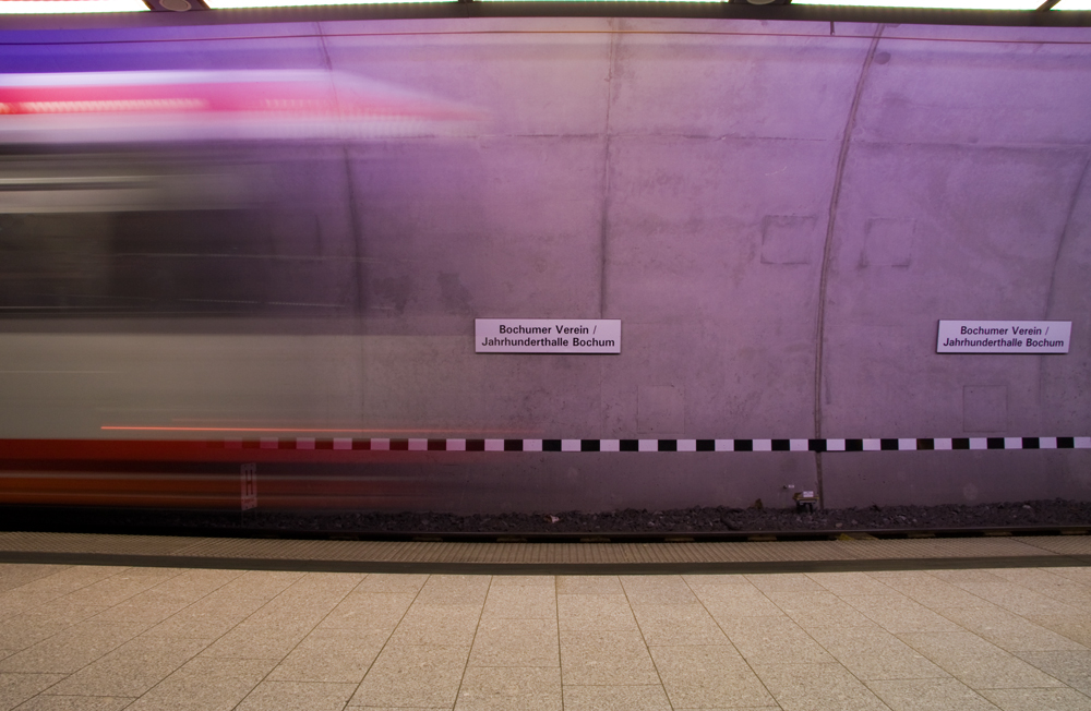Achtung die S-Bahn ...