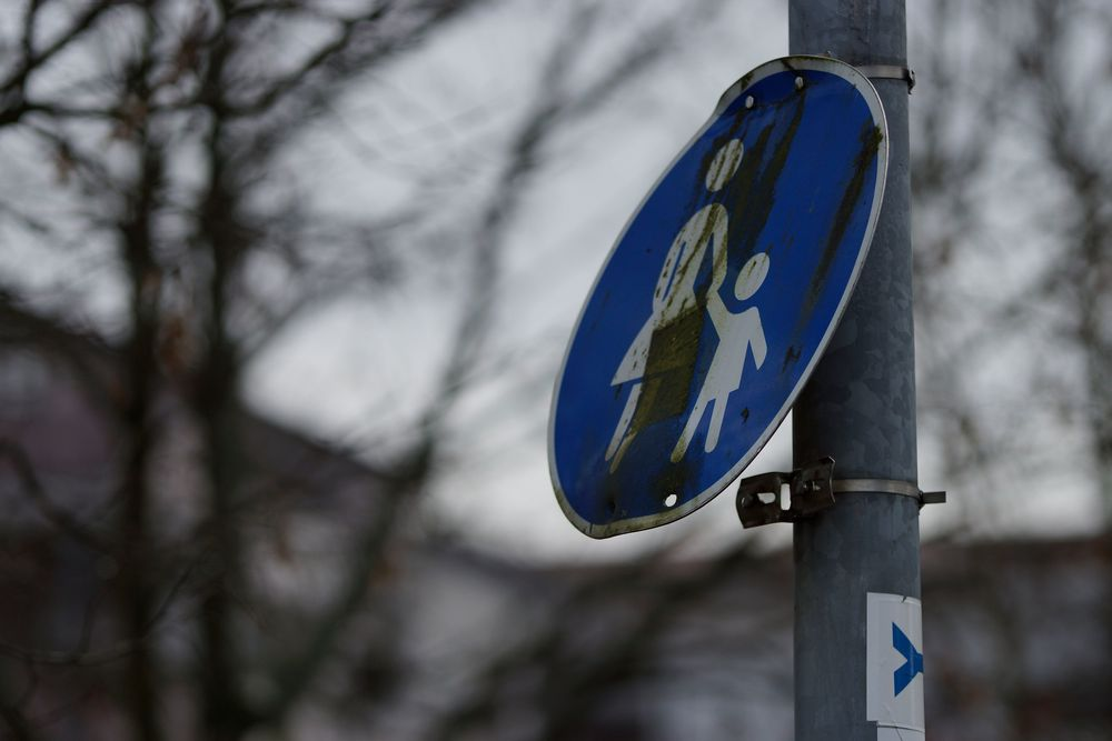 Achtung: Fußgängerfeindliche Zone