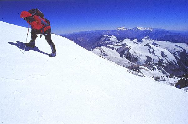 Aconcagua, verso la cima