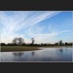 Acqua alta am Niederrhein