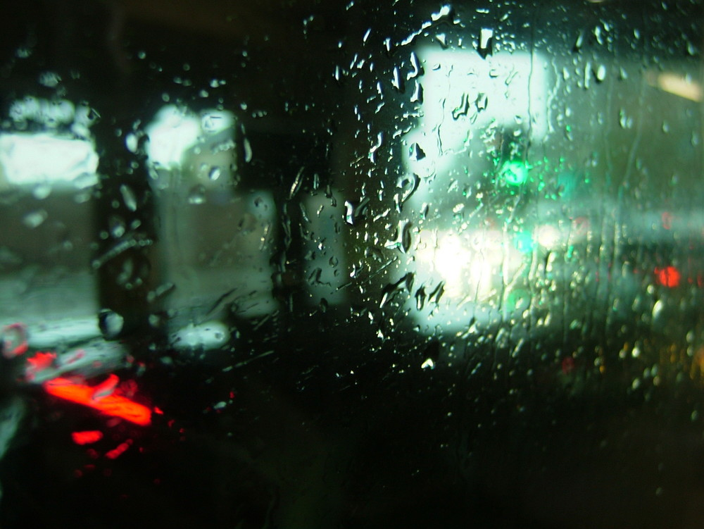 Across the rain