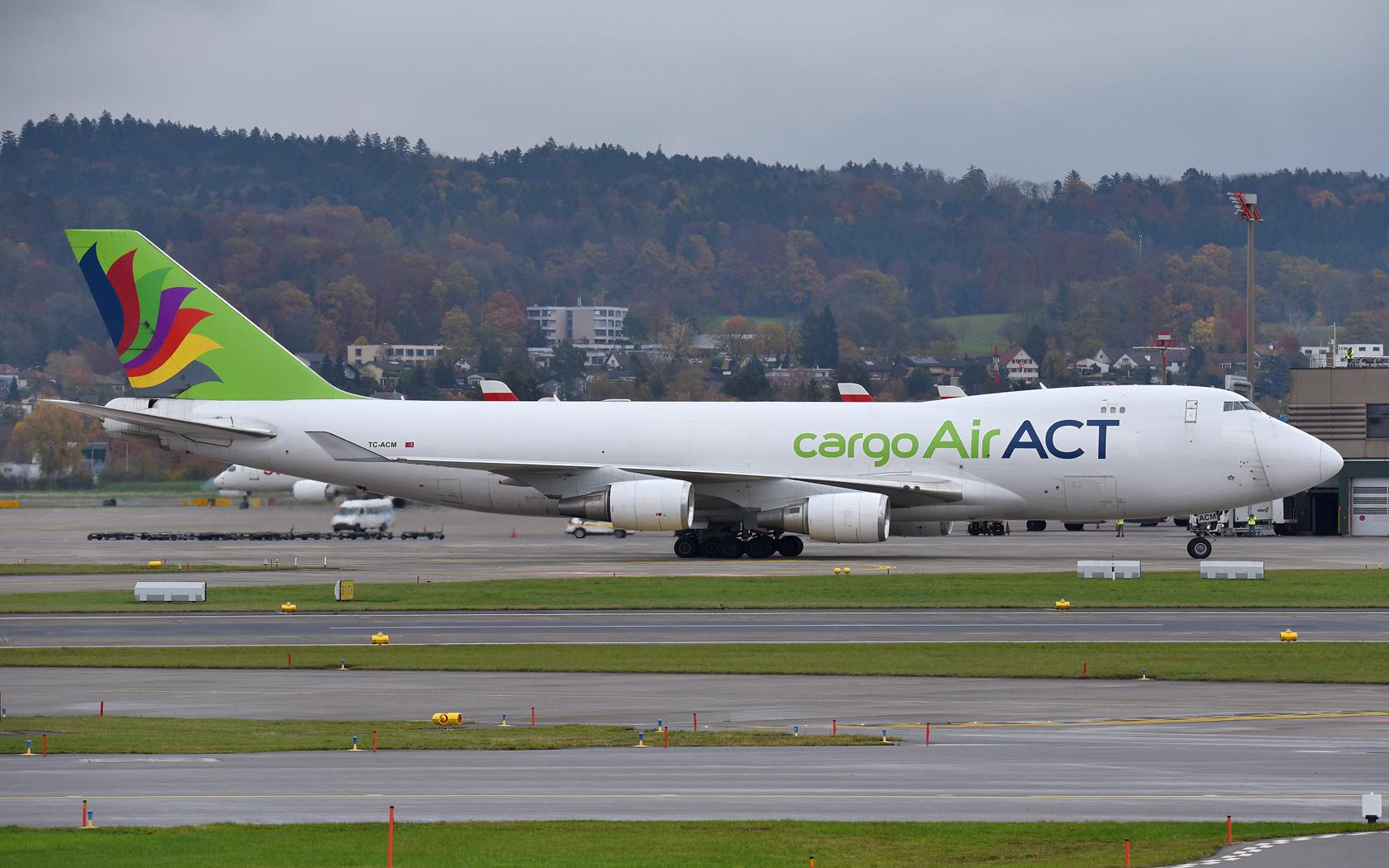 ACT Cargo Boeing 747-400F, ERF TC-ACM