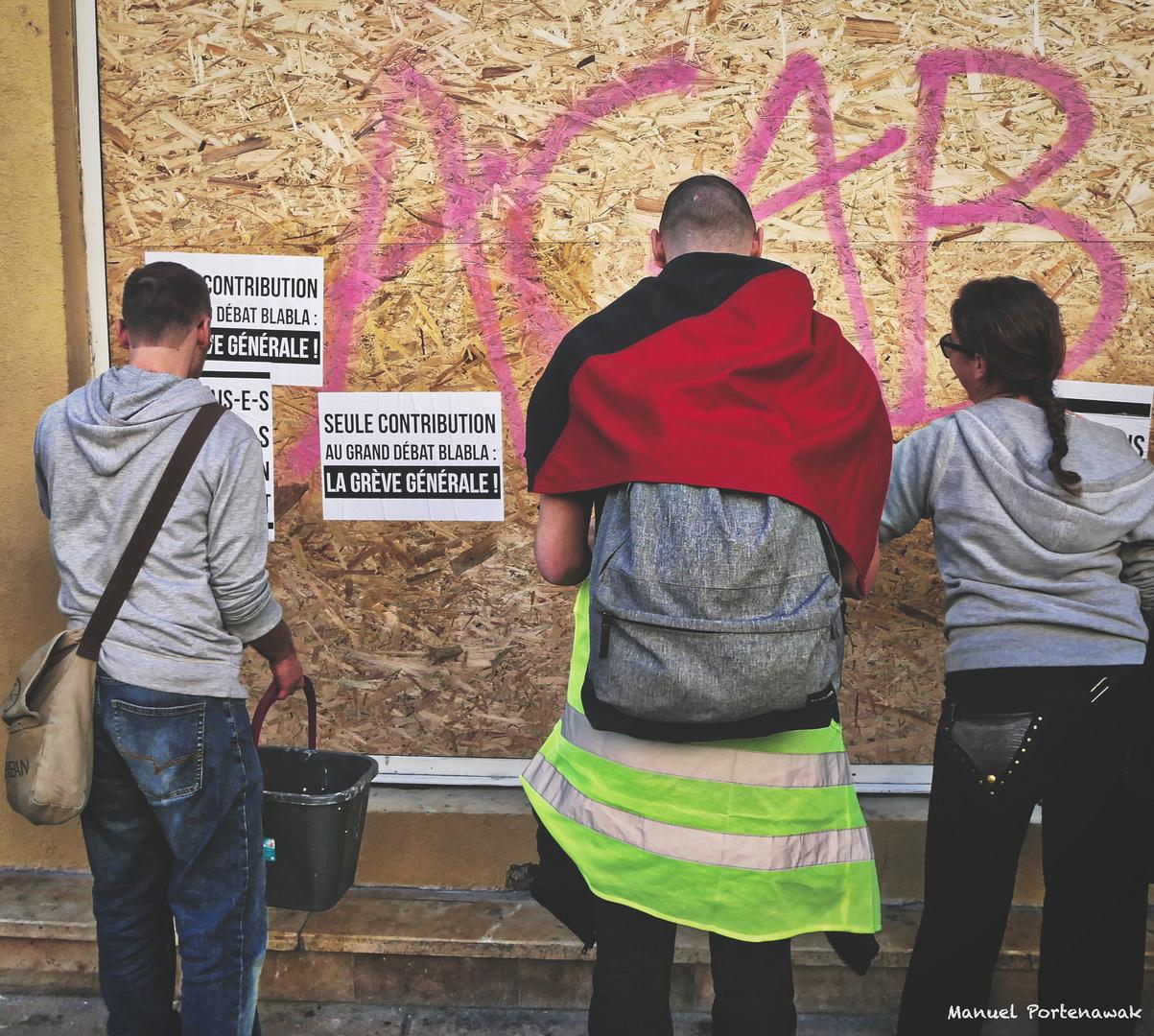 ACTE XV Au piquet, les vilains activistes GJ!