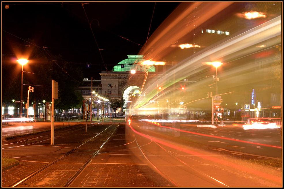 Actionfotografie bei Nacht