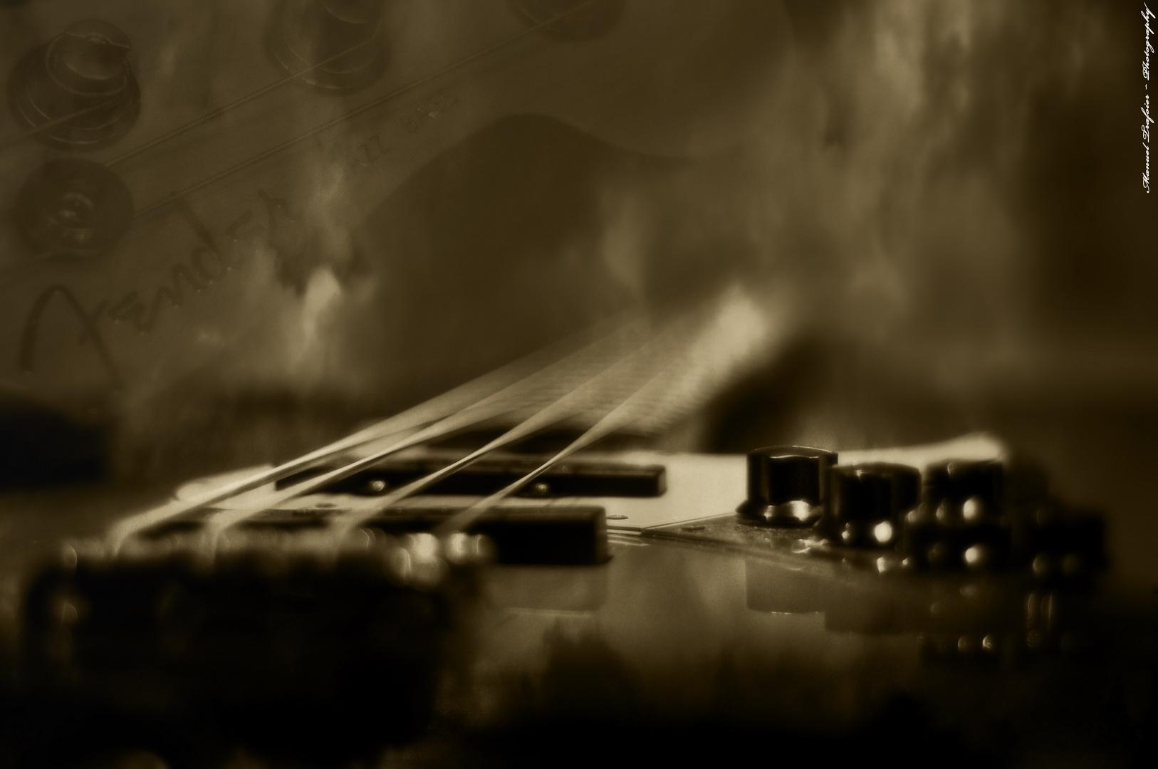Active Fender Jazz Bass