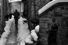 Ad aprire le strade dopo la nevicata