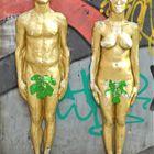 Adam & Eva in the city