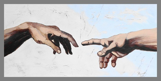 adam's hand, links oder rechts?????????????