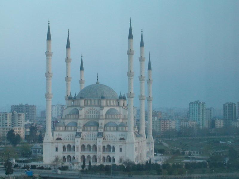 Adana Sabanci Moschee vom Hilton