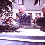 Adenauer besucht unser kleines Dorf um 1961