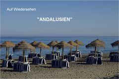 Adiós Andalusien