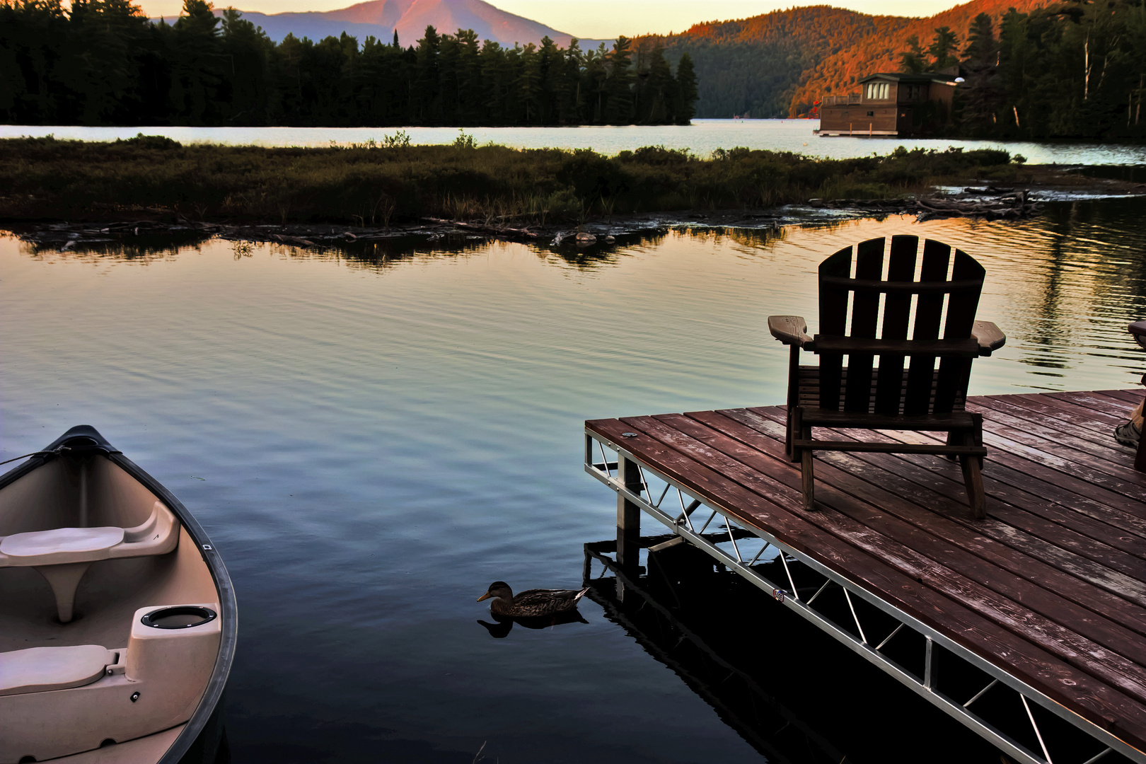 Adirondacks sunset