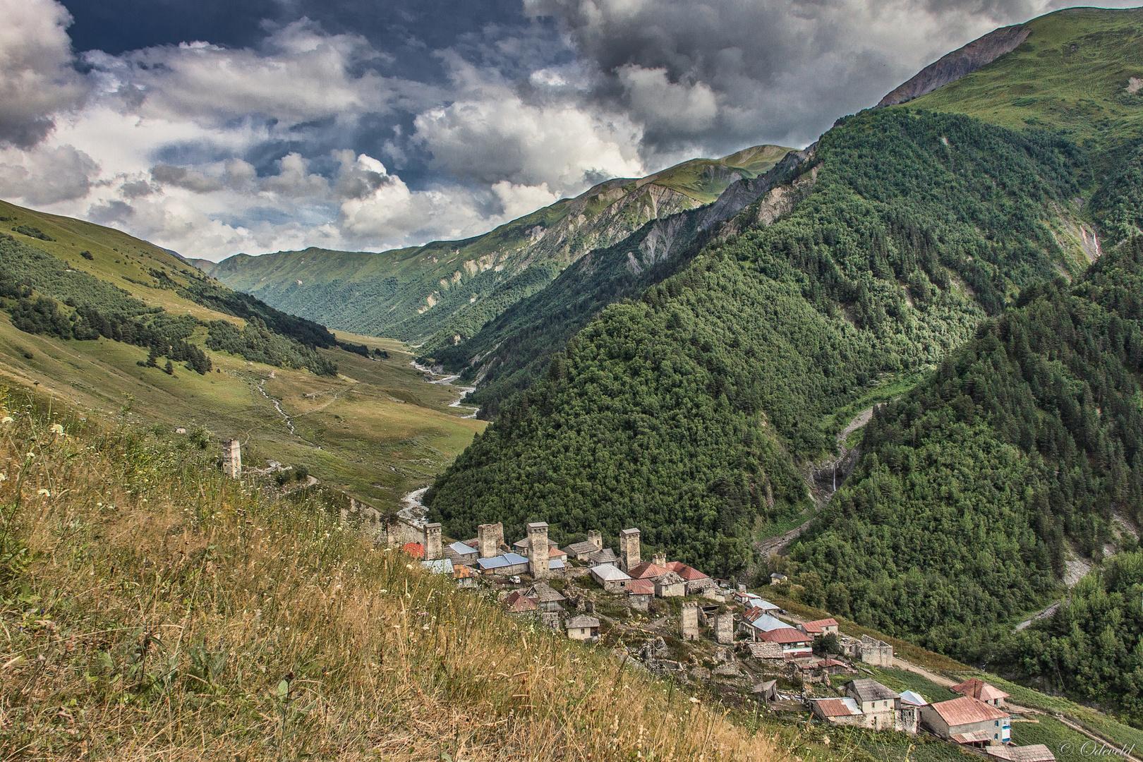 Adishi and the Adishchala valley.