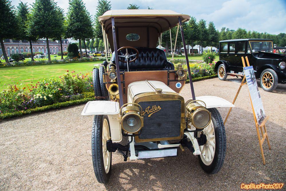 Adler 18/35 Doppelphäton D 1909 bei Classic Cars 2017 Schwetzingen
