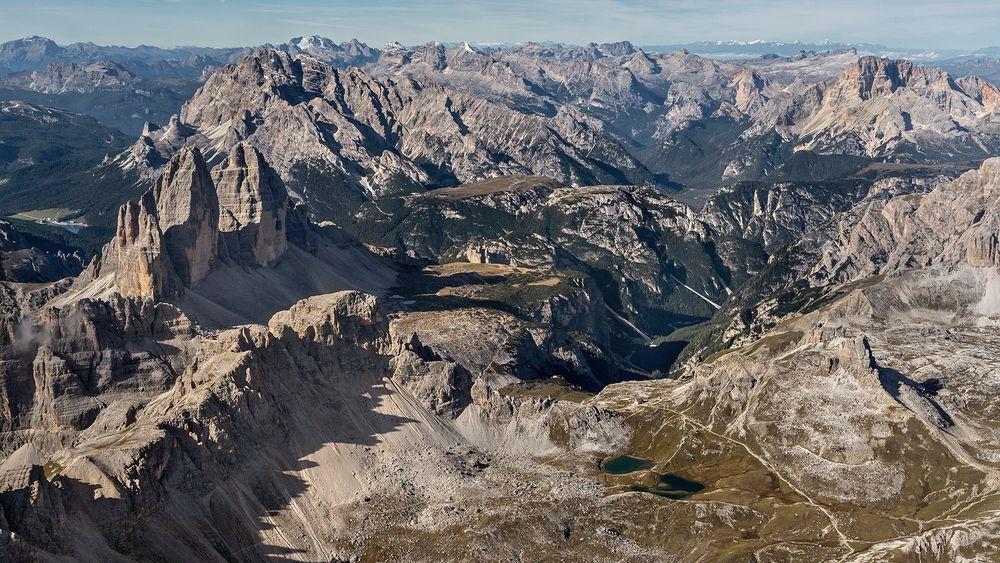 ADLERBLICK: Östliche Dolomiten