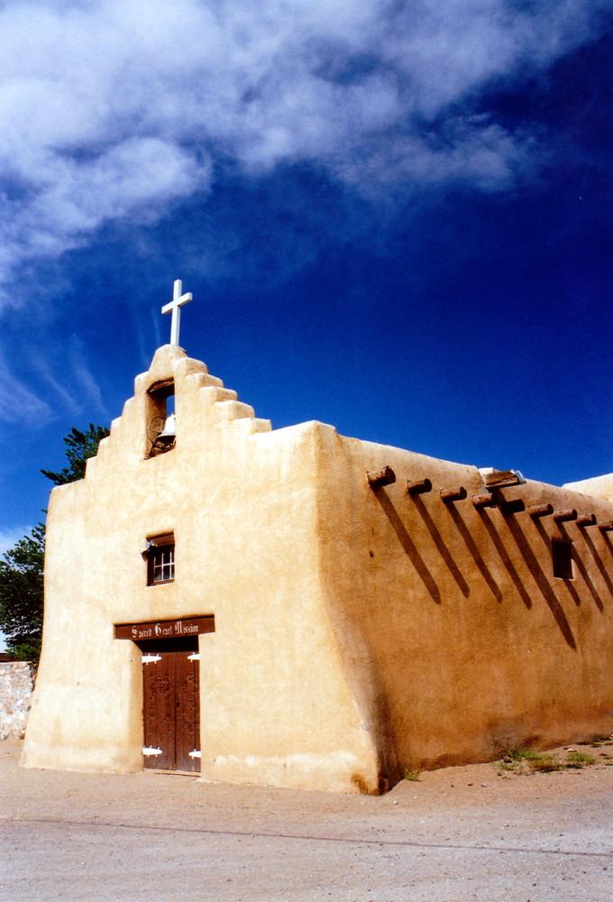 Adobe Church New Mexico