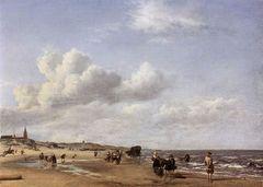 Adriaen van de Velde Strand bei Scheveningen