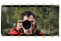 Adrian mit dem Fotoapparat