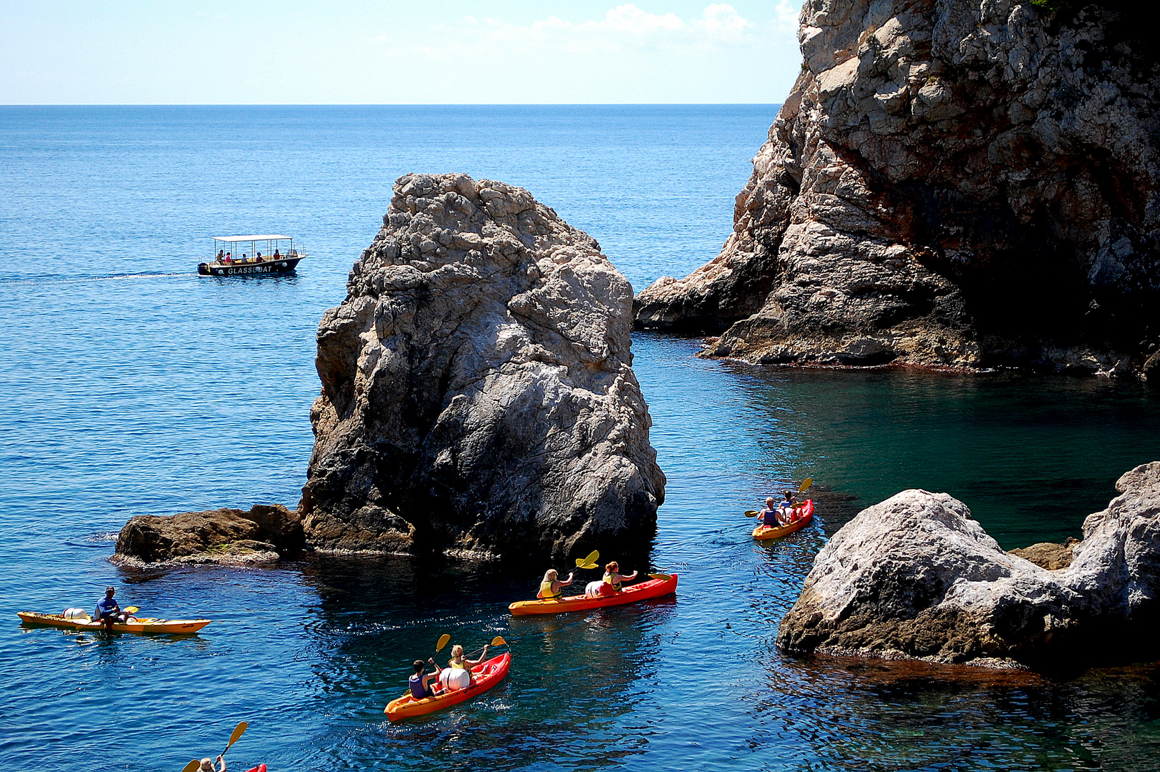 Adriatic Sea Canoeing