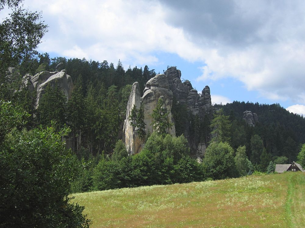 Adrspasske-Teplicke Skaly bei Broumov/Tschechien