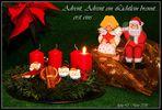 Advent, Advent ein Lichtlein brennt... #1