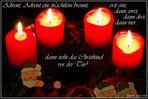 Advent, Advent ein Lichtlein brennt... #4