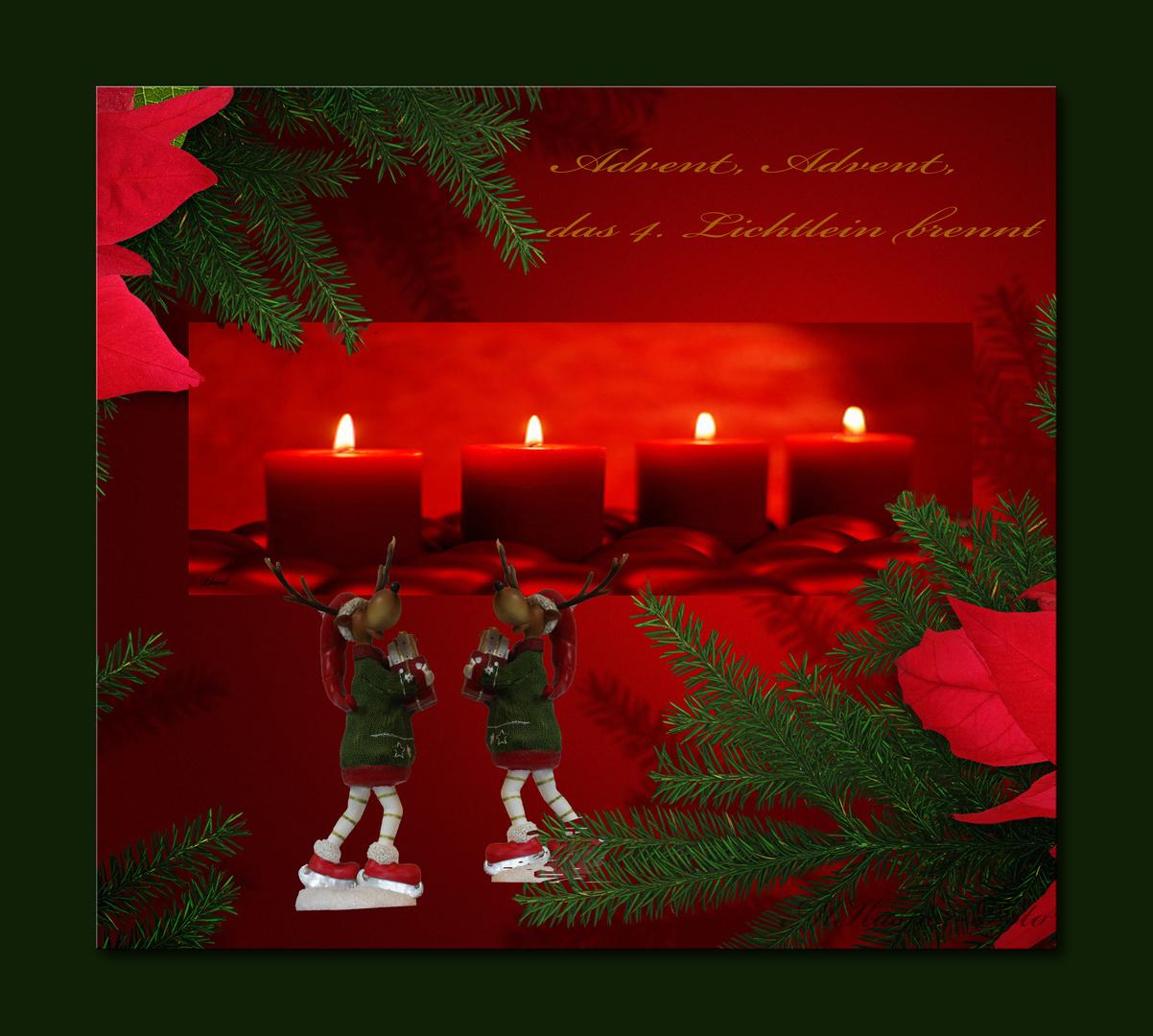 Advent,das 4.Lichtlein brennt
