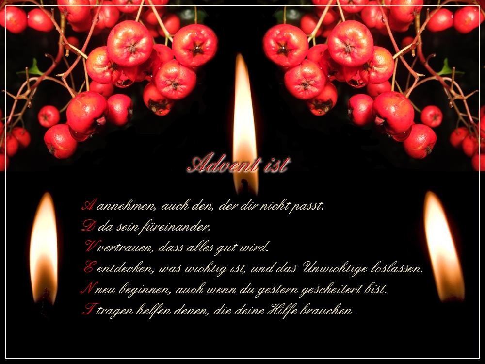 Grüße Zur Adventszeit