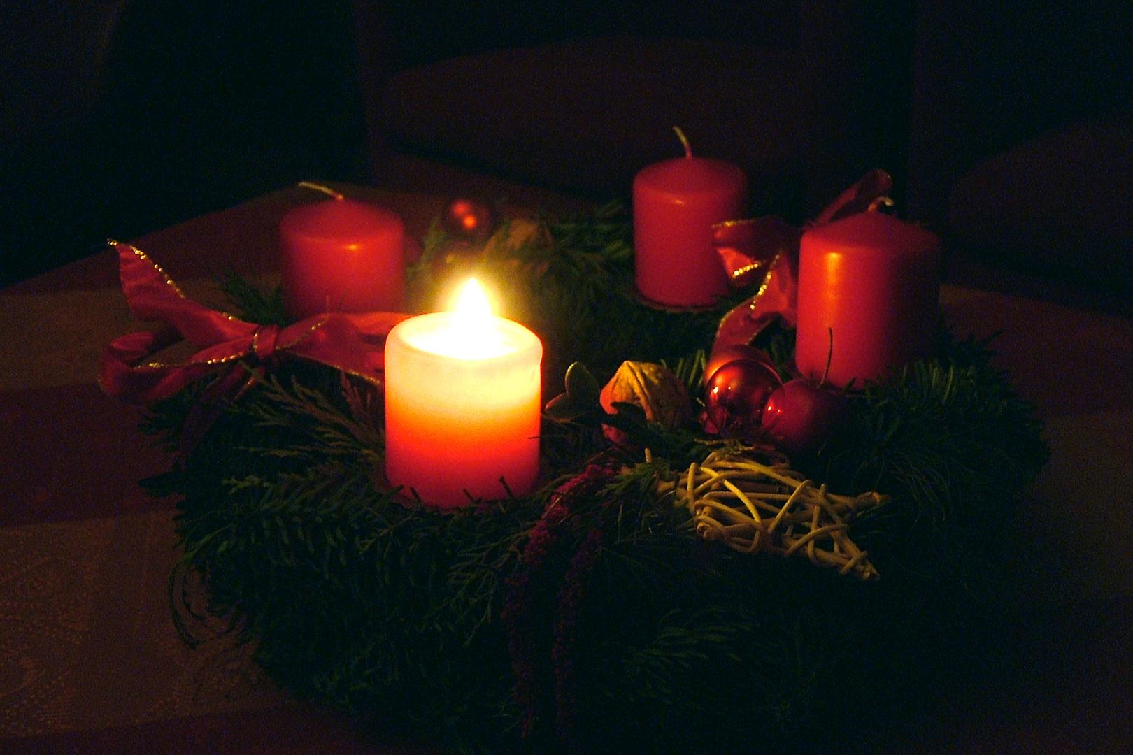 Adventskranz Foto Bild Gratulation Und Feiertage Weihnachten
