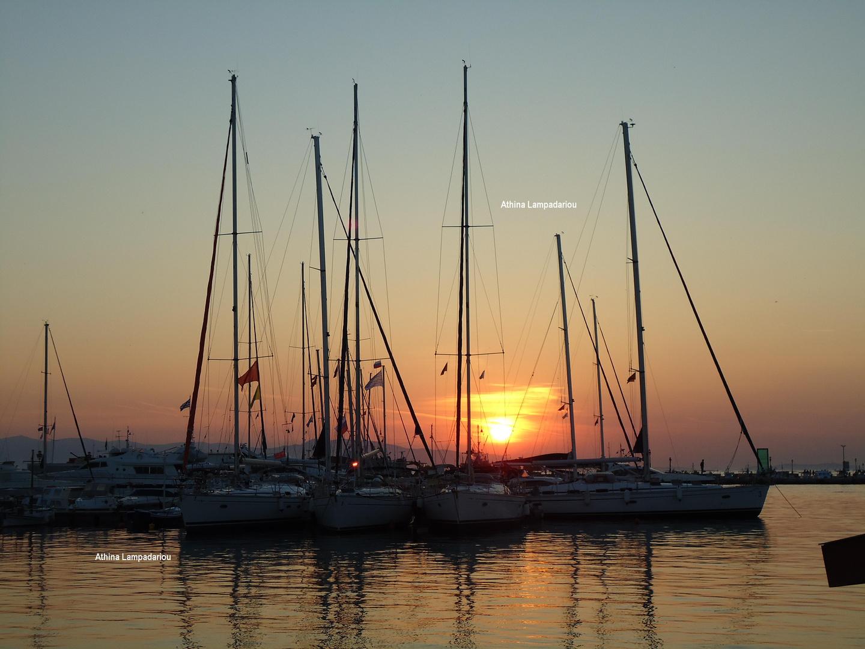 Aegina island-port