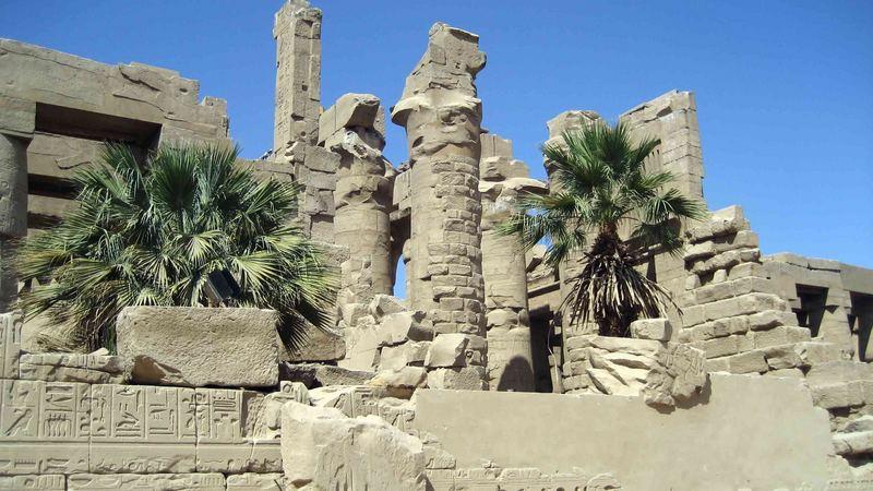 Ägypten-Karnak Tempel Luxor