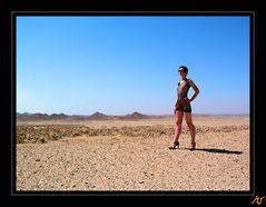 ägyptisches Wüstenpanorama