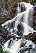 Älgafallet - Schwedischer Wasserfall - Version 2