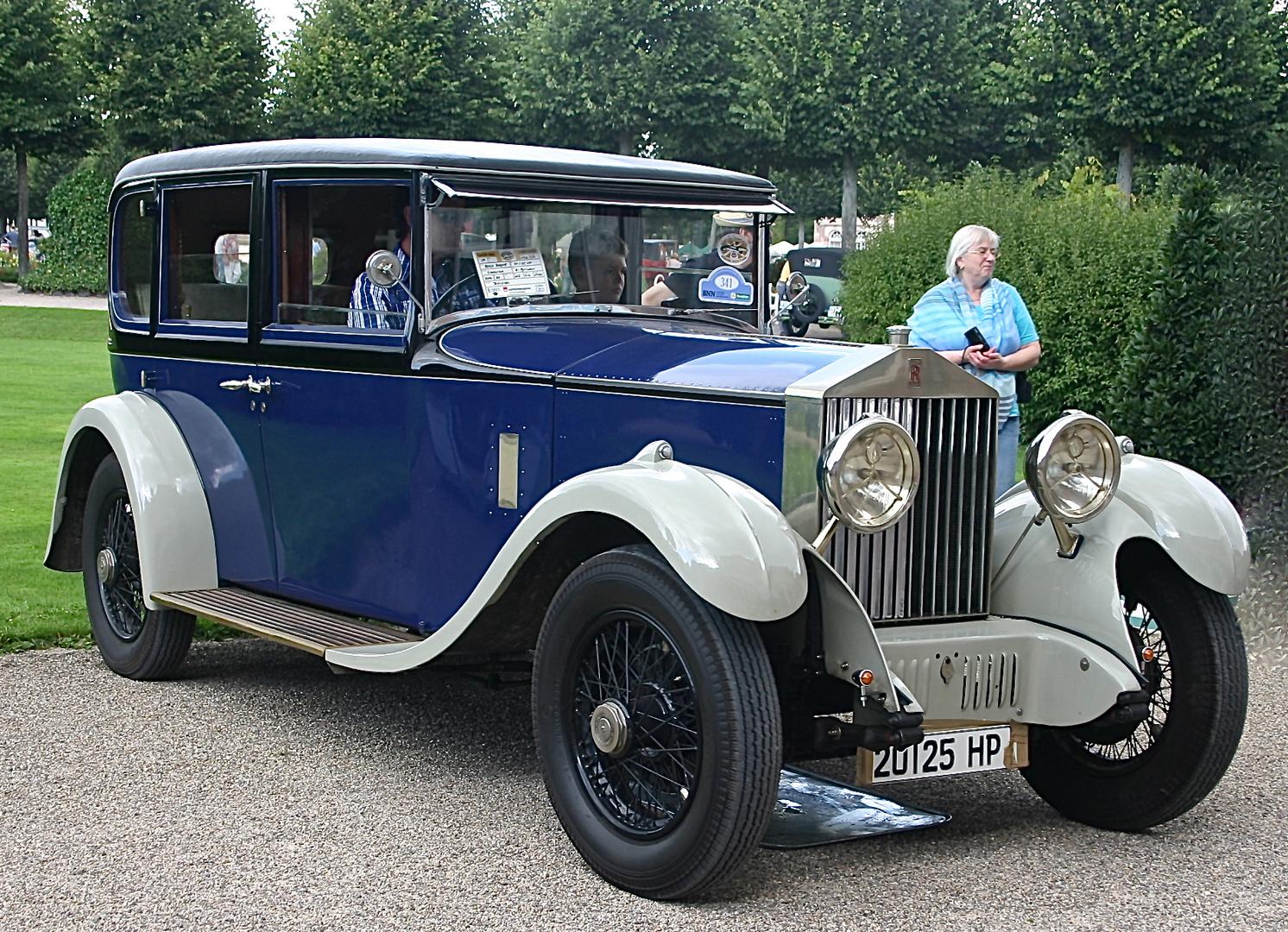 Ältester Rolls Royce am Platz